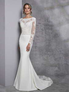 Idalah wedding dress by Victoria Jane