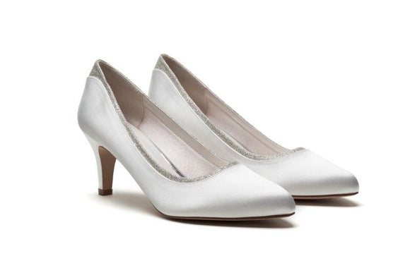 Jara wide-fitting bridal shoe Rainbow club