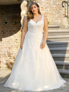 plus size ladybird wedding dress
