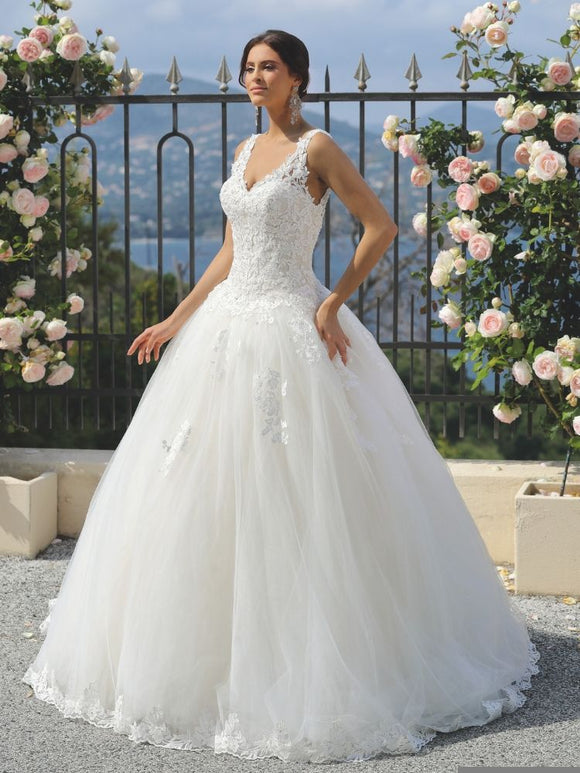 220-401 Ladybird wedding dress
