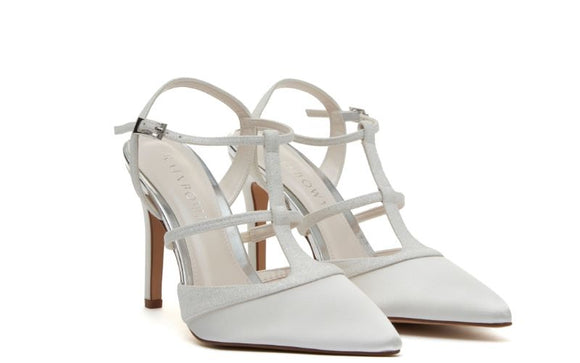 Rita bridal shoes from Rainbow club