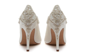 Willow bridal shoe by Rainbow shoes