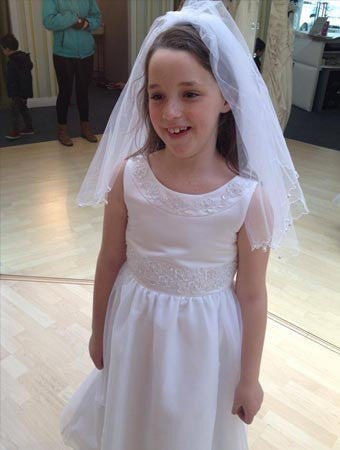 D3212 - Angelica Holy Communion Dress
