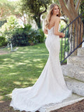 Delinda Wedding Dress Rear View