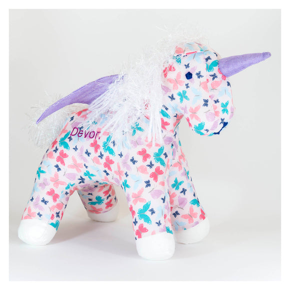 Personalised Butterfly Unicorn