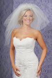 FOUR TIER SHORT VEIL