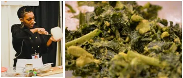 DIY Creamy Kale Salad by Vegan Comfort's Chef Sabali