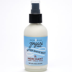 The Merchant after shave balm