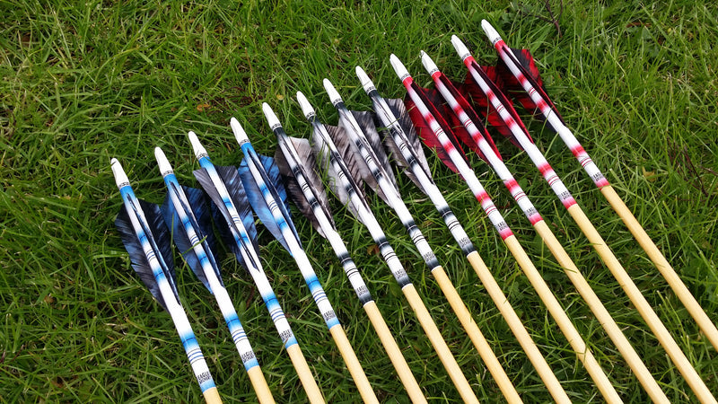 Custom Made Traditional Wooden Arrows