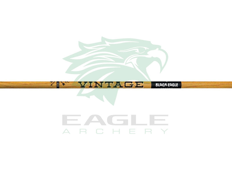 Black Eagle Vintage traditional carbon arrow shaft