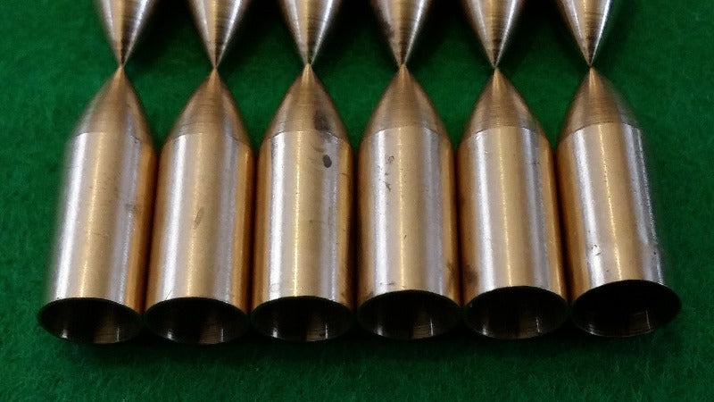 brass taper fit arrow points
