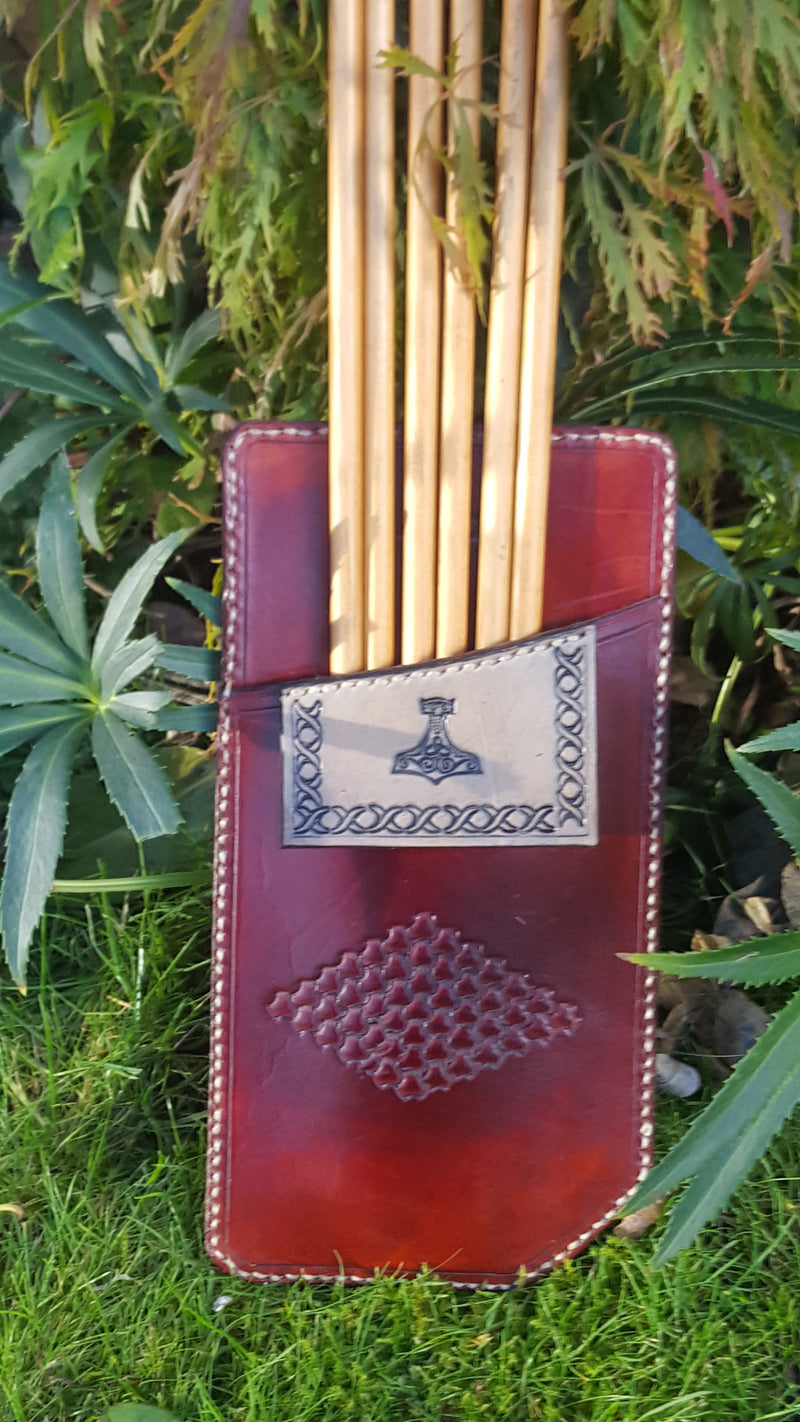 Pocket Quiver - Mahogany/Smoke Black