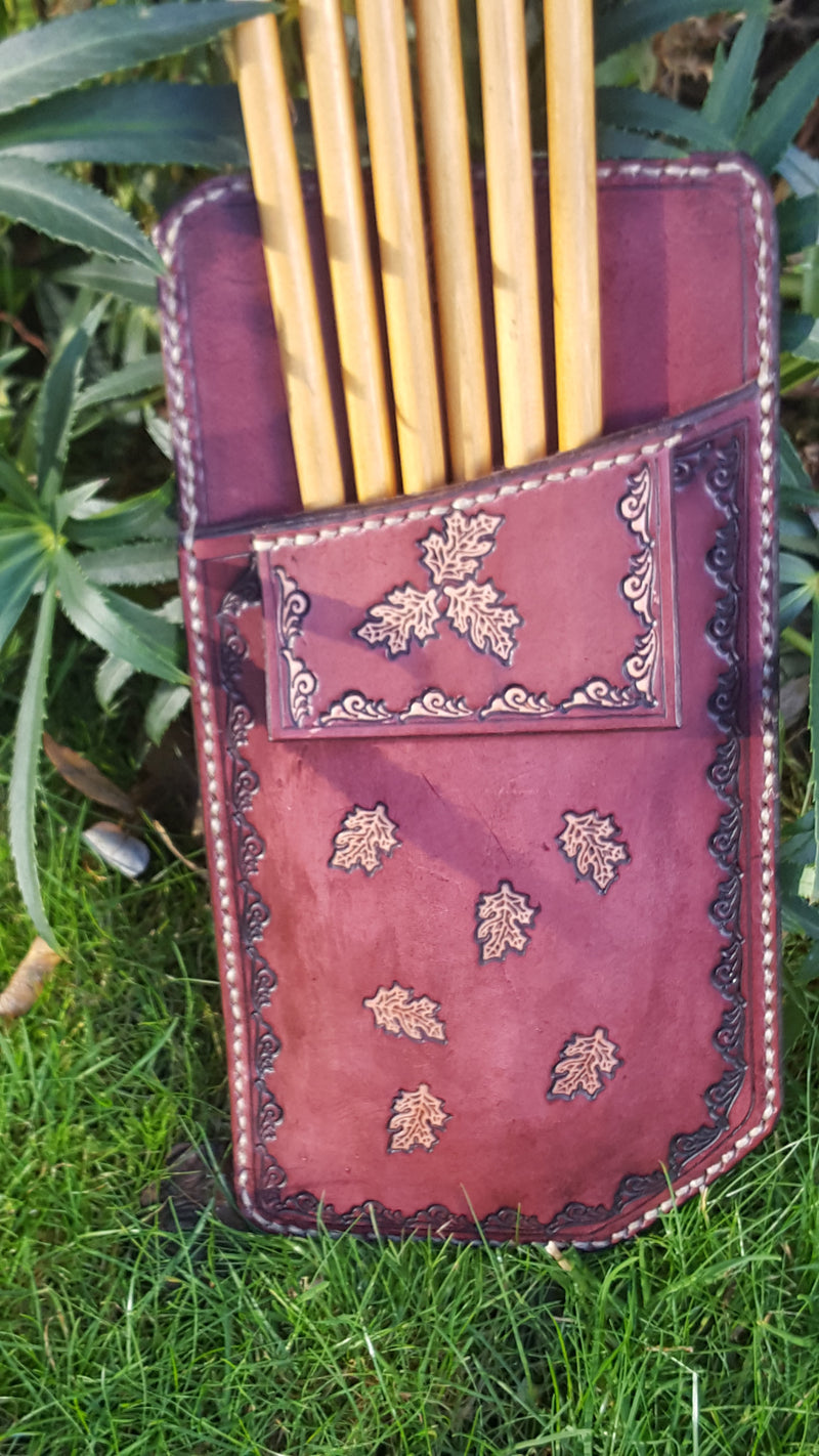 Pocket Quiver - Antique Mahogany