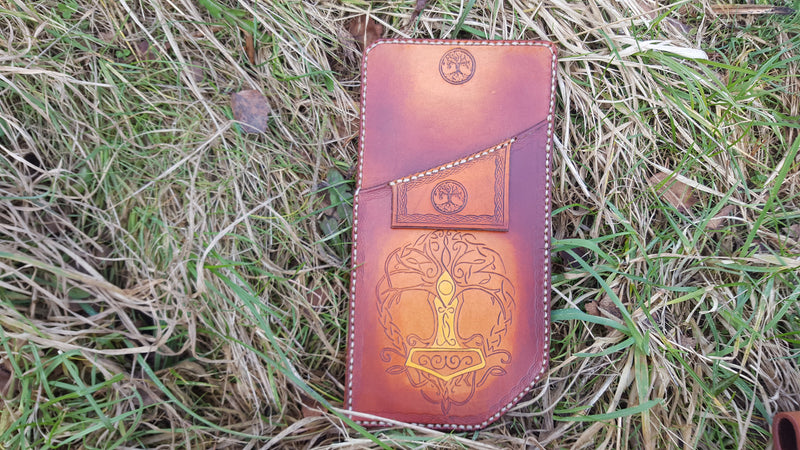 Pocket Quiver - Tree of Life with Mjolnir