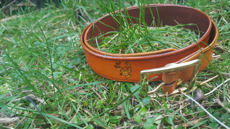 Custom Made Leather Belt
