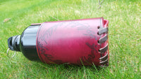 Hand Made Leather Bottle / Drinks Carrier - Lord of the Rings