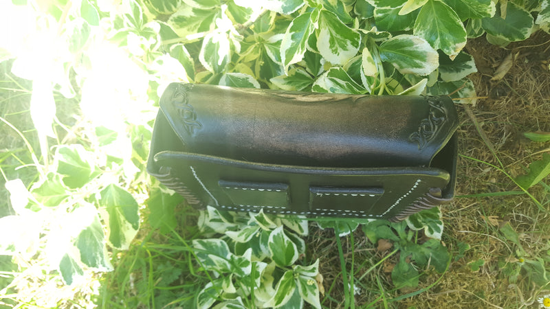 Custom Hand made Leather Pouch - Standard