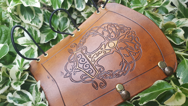 Custom Leather Bracer