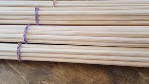 TAS northern pine grain matched wooden shafts traditional archery