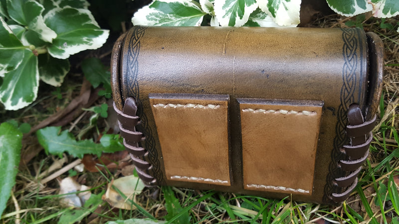 Custom Hand made Leather Pouch/Release aid pouch
