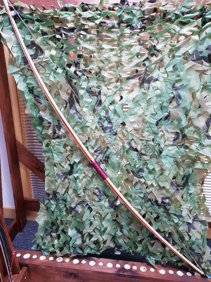 "Heritage  Tri-Laminate English Longbow - 68"" Long - 44# @26"""