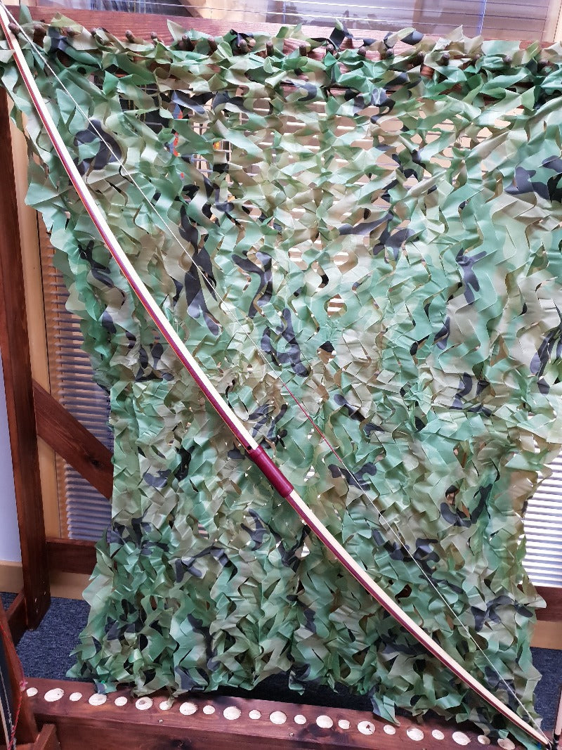 "Heritage  Quad-Laminate English Longbow - 70.5"" Long - 48# @28"""