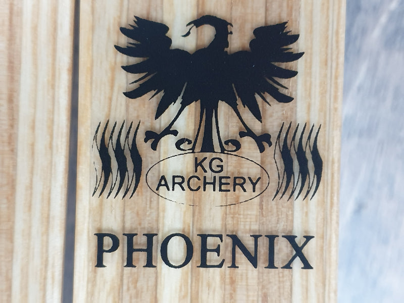 KG Archery Phoenix ILF Wood Glass Recurve limbs