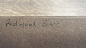 The Woodburr Workshop Redwood Burr finger tab