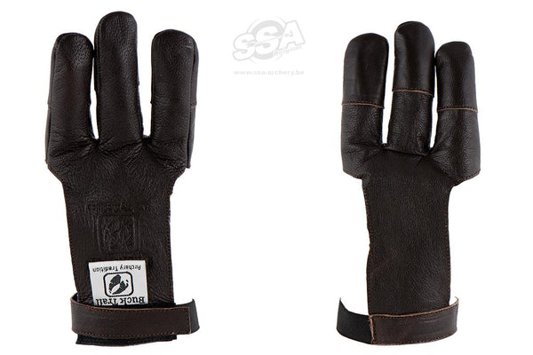Bucktrail Leather Shooting Glove