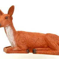Bedded doe deer LG Gamut 3D field archery target