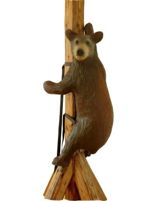 Small Climbing Brown Bear (with straps) 3D Field Archery Target