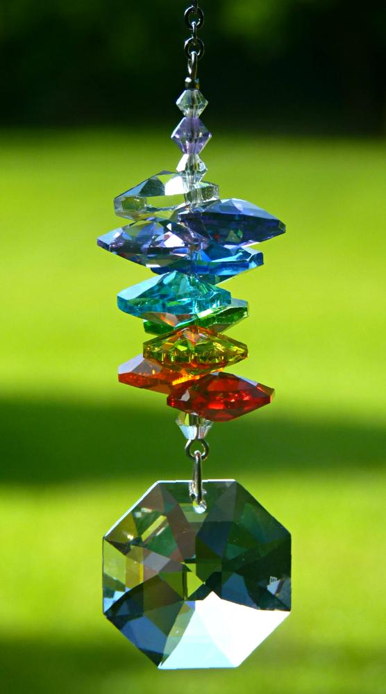 Crystal Octagon Rainbow Maker
