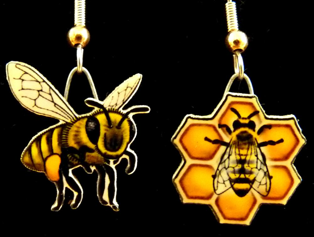 Honeybee Jabebo Earrings