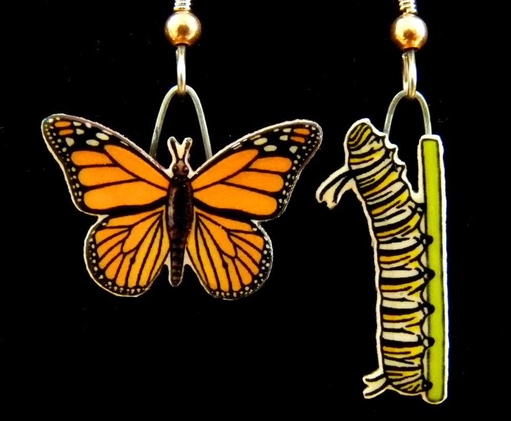 Monarch Jabebo Earrings