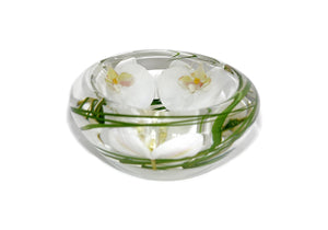 White Phalaenopsis Bowl (Small)