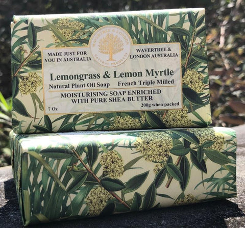 Lemongrass and Lemon Myrtle Soap