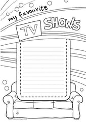 My Book of Lists - My Favourite TV Shows