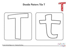 Doodle Pattern Tiles Time-Saving Bundle