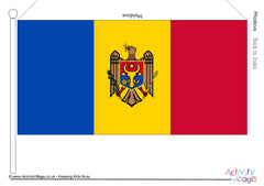 Flags of Europe - Large Printables - Example 2