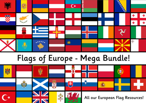 Flags of Europe - Mega Bundle!