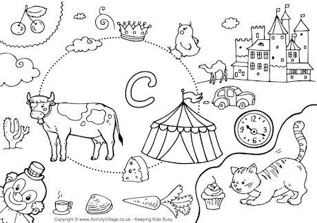 activity village printables coloring pages - photo#44
