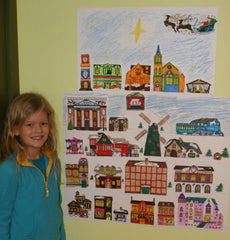 Christmas Village Printable - Katie sent this photo in