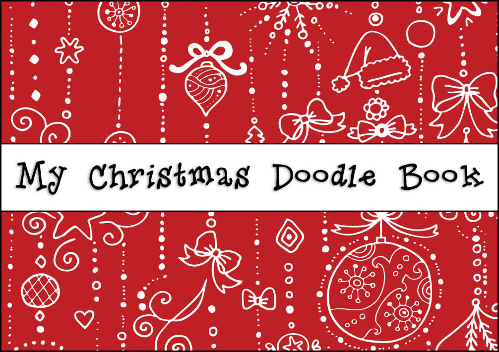 My Christmas Doodle Book - Cover