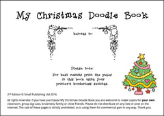 My Christmas Doodle Book - intro