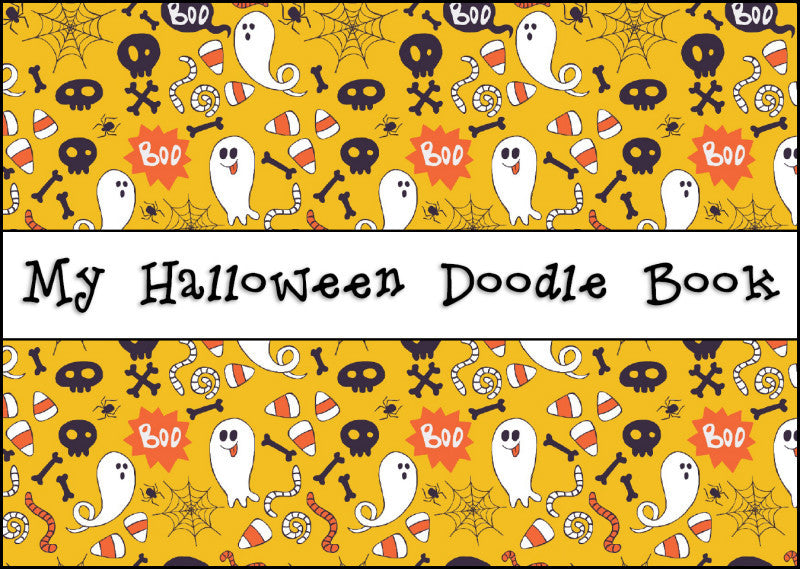 My Halloween Doodle Book - front cover