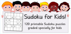 Sudoku for Kids - Cover