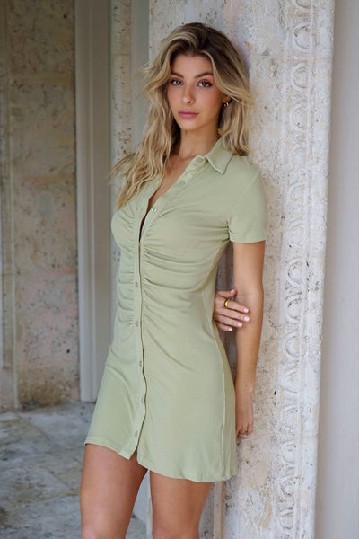 Olive You More Dress
