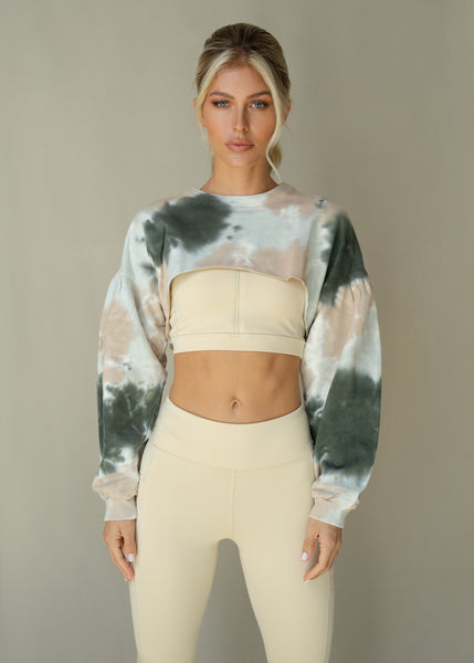 Terry Tie Dye Pullover