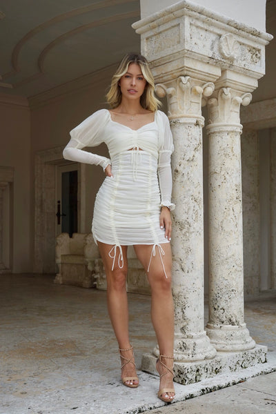 Angel White Dress