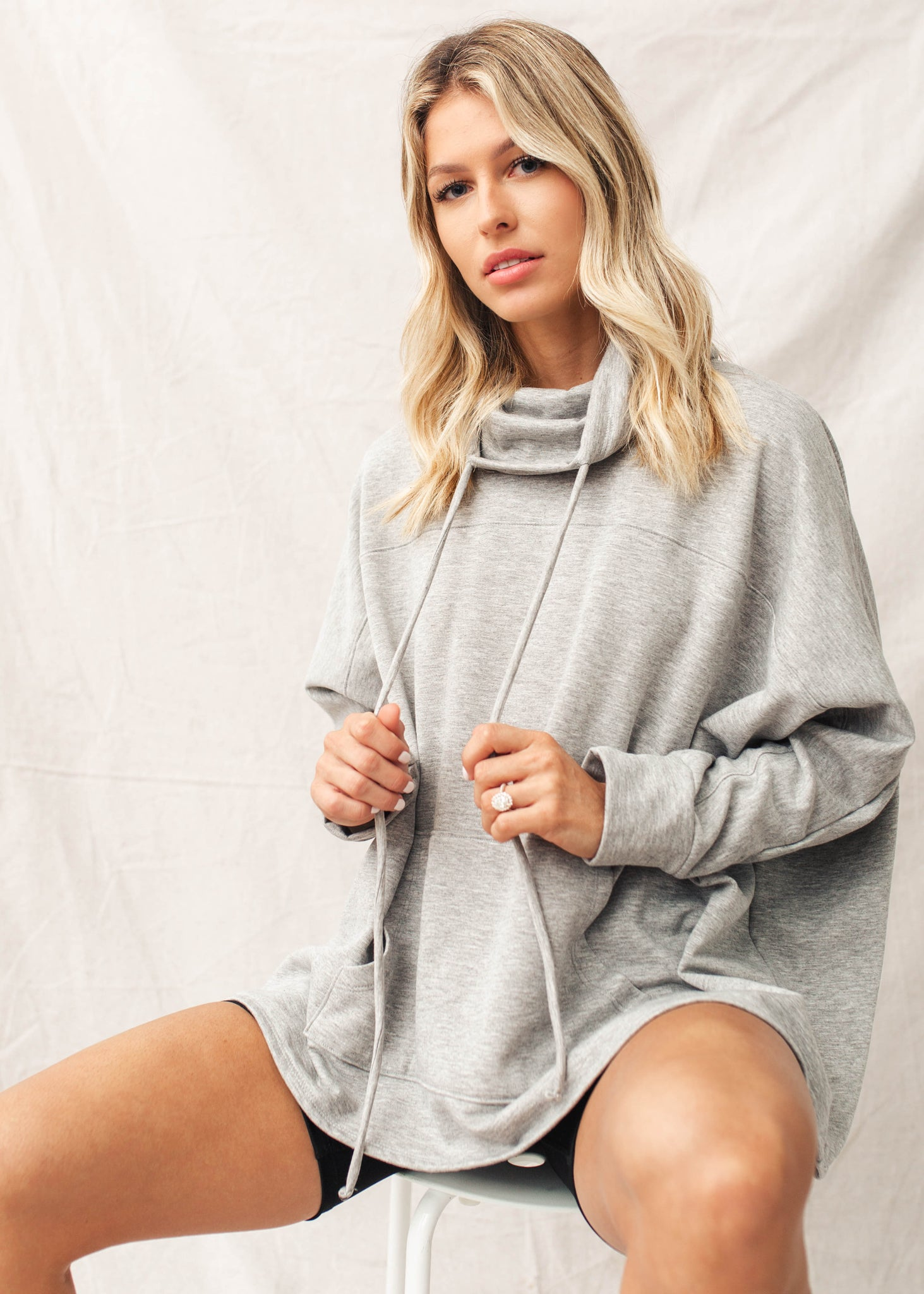 Always Ready Oversized Pullover